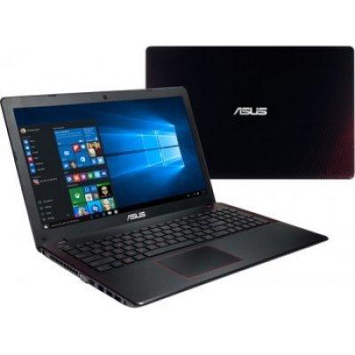 Ноутбук ASUS K550VX-DM368T (90NB0BBJ-M04970) (90NB0BBJ-M04970)Ноутбуки ASUS<br>Ноутбук Asus K550VX-DM368T Core i5 6300HQ/8Gb/1Tb/nVidia GeForce GTX 950M 2Gb/15.6/FHD (1920x1080)/Windows 10 64/black/WiFi/BT/Cam<br>
