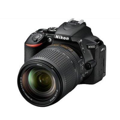Цифровая фотокамера Nikon D5600 Kit 18-140 AF-S VR (VBA500K002) цифровая фотокамера nikon d3400 kit 18 55 af p black vba490k002
