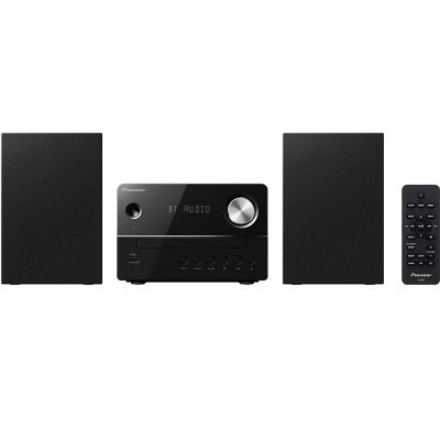 Аудио микросистема Pioneer X-EM26-B черный (X-EM26-B) медиаплеер pioneer n 30ae b