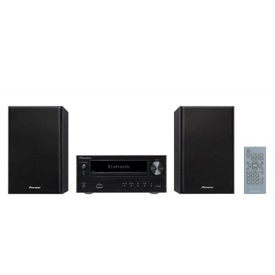 Аудио микросистема Pioneer X-HM26-B черный (X-HM26-B)Аудио микросистемы Pioneer<br>Микросистема Pioneer X-HM26-B черный 30Вт/CD/CDRW/FM/USB/BT<br>