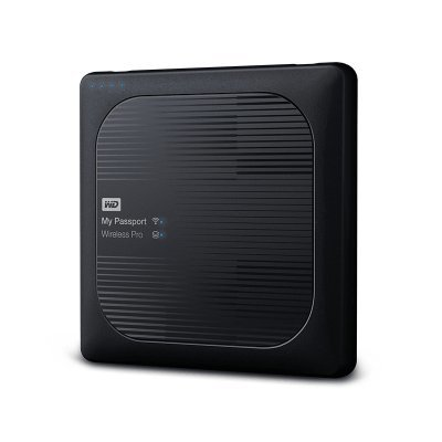 Внешний жесткий диск Western Digital My Passport Wireless Pro WDBP2P0020BBK-RESN 2000GB (WDBP2P0020BBK-RESN)Внешние жесткие диски Western Digital<br>Внешний жесткий диск WD My Passport Wireless Pro WDBP2P0020BBK-RESN 2000GB 2,5 5400RPM USB 3.0/WiFi External<br>