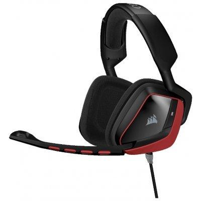 Компьютерная гарнитура Corsair VOID Surround Hybrid Stereo Gaming Headset with Dolby 7.1 USB Adapter (CA-9011144-EU)Компьютерные гарнитуры Corsair<br>компьютерная гарнитура, игровая<br>с полноразмерными наушниками<br>крепление при помощи оголовья<br>встроенный регулятор громкости<br>микрофон с шумоподавлением<br>режим объемного звучания (surround)<br>подключение: USB<br>частота воспроизведения 20-20000 Гц<br>