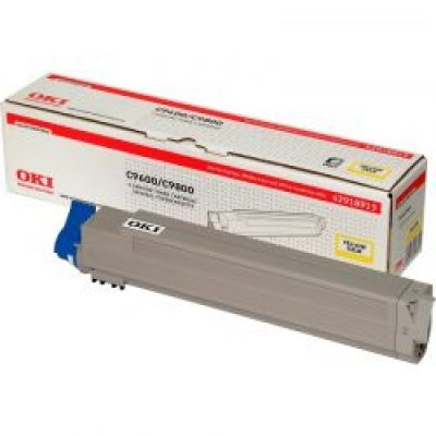 Тонер-картридж для лазерных аппаратов Oki C9600/9650/9800/9850 15K (yellow) (42918961/42918913) oki oki c9655dn