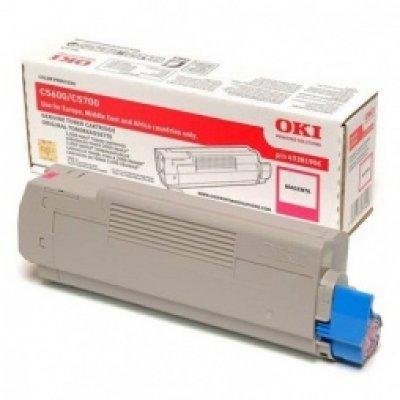 Тонер-картридж для лазерных аппаратов Oki C5600/5700 2K (magenta) (43381922/43381906) тонер картридж для лазерных аппаратов oki c5650 5750 2k yellow 43872321 43872305