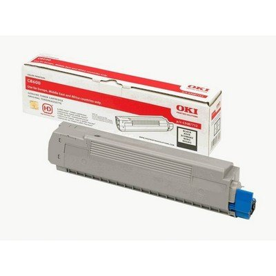 Тонер-картридж для лазерных аппаратов Oki C8600/8800 6K (black) (43487724/43487712)Тонер-картриджи для лазерных аппаратов Oki<br>Тонер-картридж для лазерных аппаратов Oki C8600/8800 6K (black)<br>