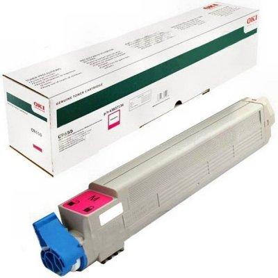 Тонер-картридж для лазерных аппаратов Oki C9655 22K (magenta) (43837134/43837130)Тонер-картриджи для лазерных аппаратов Oki<br>картридж, magenta (пурпурный), для C9655, 22000 страниц<br>
