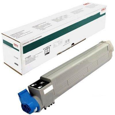 Тонер-картридж для лазерных аппаратов Oki C9655 22.5K (black) (43837136/43837132) perseus toner cartridge for oki c9655 9655 c9655n c9655dn color full compatible 43837132 43837131 43837130 43837129