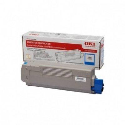 Тонер-картридж для лазерных аппаратов Oki C5850/5950/MC560 6K (cyan) (43865743/43865723)Тонер-картриджи для лазерных аппаратов Oki<br>Тонер-картридж для лазерных аппаратов Oki C5850/5950/MC560 6K (cyan)<br>