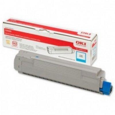 Тонер-картридж для лазерных аппаратов Oki MC851/861 7.3K (cyan) (44059171/44059167) тонер картридж для лазерных аппаратов oki c3300 3400 3450 3600 2 5k cyan 43459347 43459331