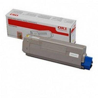 Тонер-картридж для лазерных аппаратов Oki MC861 10K (yellow) (44059261/44059253) тонер картридж для лазерных аппаратов oki c5650 5750 2k yellow 43872321 43872305