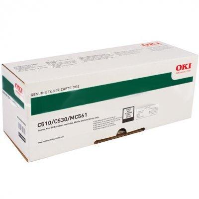 Тонер-картридж для лазерных аппаратов Oki C510/530/MC561 5K (black) (44469810/44469804)Тонер-картриджи для лазерных аппаратов Oki<br>Тонер-картридж для лазерных аппаратов Oki C510/530/MC561 5K (black)<br>