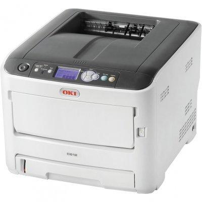 Цветной лазерный принтер Oki C612DN (C612DN/46551002)Цветные лазерные принтеры Oki<br>цветной светодиодный, А4, 34/36 ppm, сеть, PCL6 (XL3.0 &amp;amp; PCL5), PostScrip, дуплекс<br>
