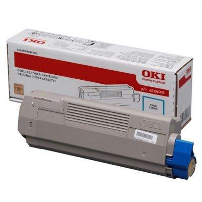 Тонер-картридж для лазерных аппаратов Oki МС760/770/780 6K (cyan) (45396303) тонер картридж для лазерных аппаратов oki c3300 3400 3450 3600 2 5k cyan 43459347 43459331