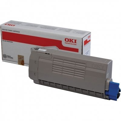 Тонер-картридж для лазерных аппаратов Oki МС760/770/780 8K (black) (45396304)Тонер-картриджи для лазерных аппаратов Oki<br>Тонер-картридж для лазерных аппаратов Oki МС760/770/780 8K (black)<br>