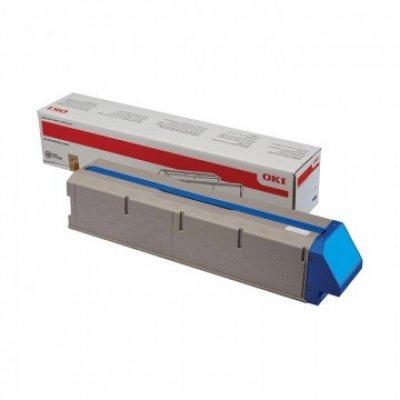 Тонер-картридж для лазерных аппаратов Oki C931 38K (cyan) (45536507) тонер картридж для лазерных аппаратов oki c3300 3400 3450 3600 2 5k cyan 43459347 43459331