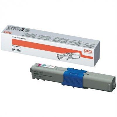 Тонер-картридж для лазерных аппаратов Oki C612 6K (cyan) (46507519) тонер картридж для лазерных аппаратов oki c3300 3400 3450 3600 2 5k cyan 43459347 43459331