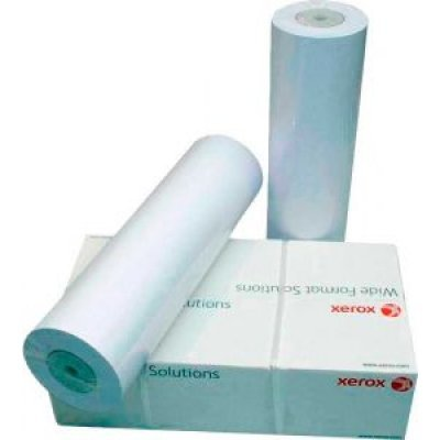 Бумага для принтера Xerox Inkjet Matt Coated 90 гр.,(0.610х10 м.) (450L97049), арт: 257045 -  Бумага для принтера Xerox