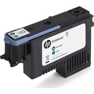 Печатающая головка HP 744 DesignJet Черная для фотопечати/Голубая (F9J86A)Печатающие головки HP<br>744 HP DesignJet, Черная для фотопечати/Голубая (F9J86A)<br>