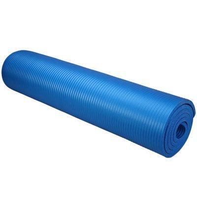 Коврик для аэробики HouseFit NBR MAT 1800x600x10мм синий (1800 СИНИЙ)Коврики для аэробики HouseFit<br>Коврик для аэробики HouseFit NBR MAT 1800x600x10мм синий<br>