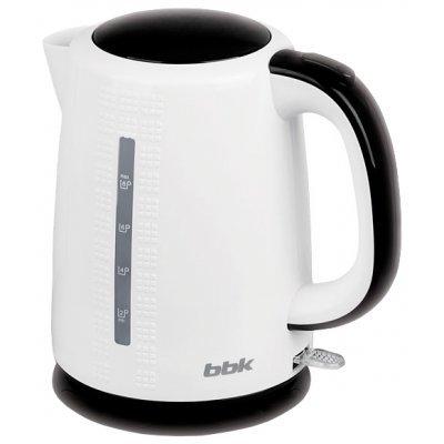 Электрический чайник BBK EK1730P белый/черный (EK1730P белый/черный)Электрические чайники BBK<br>чайник<br>объем 1.7 л<br>мощность 2200 Вт<br>закрытая спираль<br>установка на подставку в любом положении<br>пластиковый корпус<br>