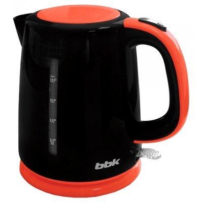 Электрический чайник BBK EK1730P черный/оранжевый (EK1730P черный/оранжевый) чайник электрический bbk ek1705s оранжевый