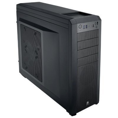 Корпус системного блока Corsair Carbide Series 500R Black w/o PSU (CC-9011012-WW)Корпуса системного блока Corsair<br>Корпус Corsair Carbide Series&amp;#174; 500R Black w/o PSU<br>