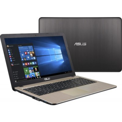 Ноутбук ASUS R540YA-XO112T (90NB0CN1-M01390) (90NB0CN1-M01390)Ноутбуки ASUS<br>Ноутбук Asus R540YA-XO112T E1 7010/2Gb/500Gb/UMA/15.6/HD (1366x768)/Free DOS/black/WiFi/BT/Cam<br>