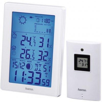 Метеостанция Hama EWS-3200 белый (00136258) метеостанция цифровая hama ews 800 h 76045