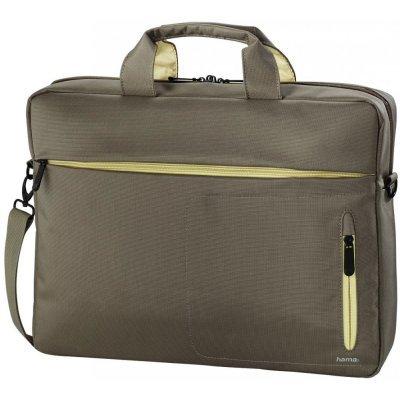 """Сумка для ноутбука Hama 15.6"""" Marseille Style коричневый/желтый (00101283)"""