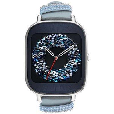 Умные часы ASUS ZenWatch 2 WI502Q синий (90NZ003A-M01320)