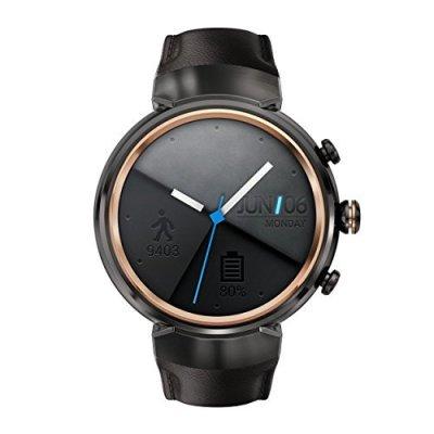 Умные часы ASUS ZenWatch 3 WI503Q черный (90NZ0061-M00150)