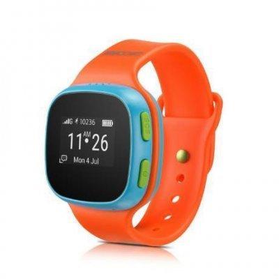 Умные часы Alcatel Move Time Track&amp;Talk SW10 Оранжевый/Голубой (SW10-2JALRU1)Умные часы Alcatel<br>Смарт-часы Alcatel Move Time Track&amp;amp;Talk SW10, Оранжевый/Голубой<br>