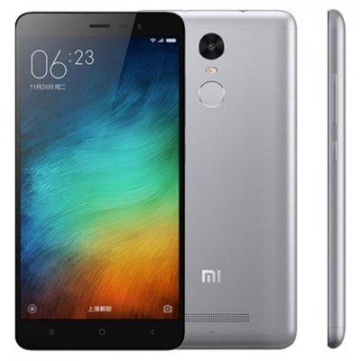 Смартфон Xiaomi Redmi 3S 16GB серый (Redmi 3S 16GB Grey)Смартфоны Xiaomi<br>смартфон, Android 6.0<br>поддержка двух SIM-карт<br>экран 5, разрешение 1280x720<br>камера 13 МП, автофокус<br>память 16 Гб, слот для карты памяти<br>3G, 4G LTE, LTE-A, Wi-Fi, Bluetooth, GPS, ГЛОНАСС<br>объем оперативной памяти 2 Гб<br>аккумулятор 4100 мА/ч<br>вес 144 г, ШxВxТ 69.60x139.30x8.50 мм<br>