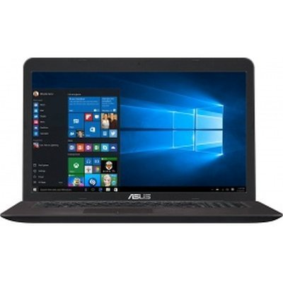 Ноутбук ASUS X756UQ-T4216T (90NB0C31-M02350) (90NB0C31-M02350)Ноутбуки ASUS<br>Ноутбук Asus X756UQ-T4216T i3-6100U (2.3)/6G/1T/17.3 FHD AG IPS/NV 940MX 2GB DDR5/DVD-SM/BT/Win10<br>