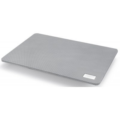 Подставка для ноутбука DeepCool N1 белый (DeepCool N1 WHITE)Подставки для ноутбука DeepCool<br>Теплоотводящая подставка под ноутбук DeepCool N1 WHITE (до 15,6, cупертонкий 2,6см, 180мм вентилято<br>