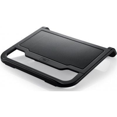 Подставка для ноутбука DeepCool N200 черный (N200)Подставки для ноутбука DeepCool<br>Теплоотводящая подставка под ноутбук DeepCool N200 (до15.6, 120мм вентилятор, черный)<br>