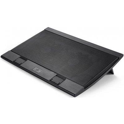 Подставка для ноутбука DeepCool WIND PAL FS черный (WIND PAL FS BLACK)Подставки для ноутбука DeepCool<br>Теплоотводящая подставка под ноутбук DeepCool WIND PAL FS BLACK (до 15.6,Супертонкий 2,4см, 2хUSB,<br>