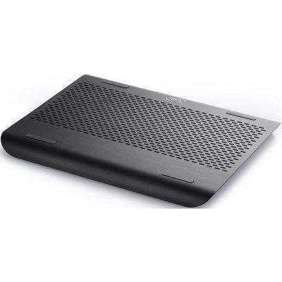 Подставка для ноутбука DeepCool N360 FS черный (N360 FS BLACK)Подставки для ноутбука DeepCool<br>Теплоотводящая подставка под ноутбук DeepCool N360 FS BLACK (до 15.6, вентилятор 180мм,  Aluminum P<br>