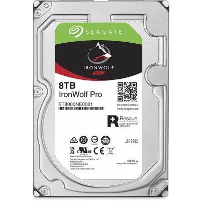 Жесткий диск ПК Seagate ST8000NE0021 (ST8000NE0021)Жесткие  диски ПК Seagate<br>Жесткий диск Seagate Original SATA-III 8Tb ST8000NE0021 Ironwolf Pro (7200rpm) 256Mb 3.5<br>
