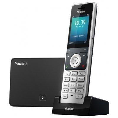 VoIP-телефон Yealink W56P (W56P)VoIP-телефоны Yealink<br>беспроводной VoIP-телефон<br>протоколы связи: SIP<br>поддержка стандарта связи DECT<br>громкая связь (Hands Free)<br>подключение гарнитуры<br>встроенный цветной LCD-дисплей<br>порты: USB, WAN, LAN<br>