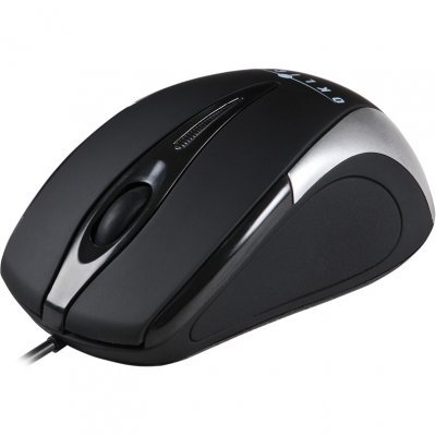 Мышь OKLICK 235M черный/серебристый (997813)Мыши OKLICK<br>Мышь Oklick 235M black/silver optical (800dpi) USB (2but)<br>