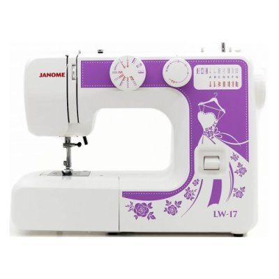 Швейная машина Janome LW-17 белый (LW-17) швейная машина janome dresscode