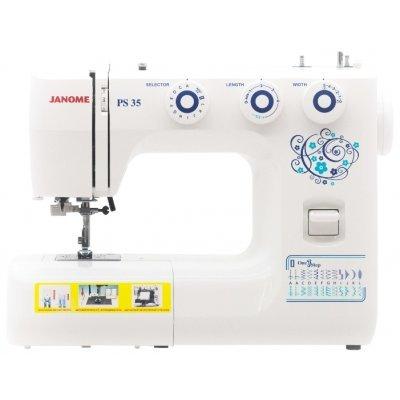Швейная машина Janome PS-35 белый (Janome PS-35)