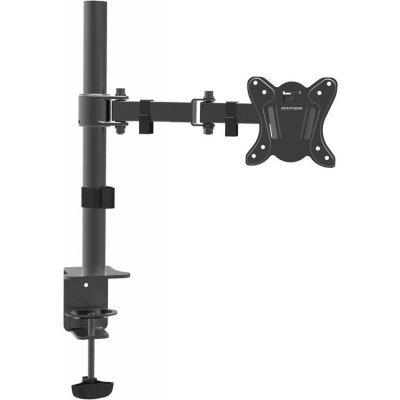 Кронштейн для ТВ и панелей Arm Media LCD-T12 (10153)Кронштейн для ТВ и панелей Arm Media<br>Кронштейн для мониторов Arm Media LCD-T12 черный 15-32 макс.12кг настольный поворот и наклон верт.перемещ.<br>