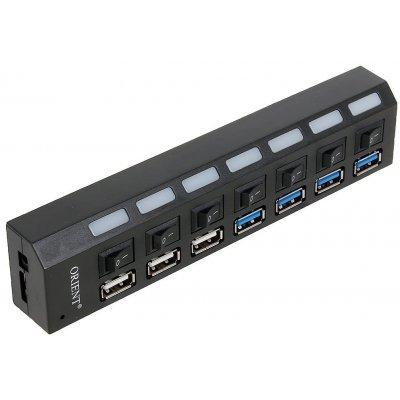 USB концентратор Orient BC-315 (BC-315)