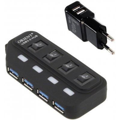 USB концентратор Orient BC-306PS (BC-306PS)