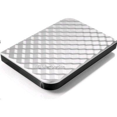 Внешний жесткий диск Verbatim 500GB [53196] (53196)Внешние жесткие диски Verbatim<br>Внешний жесткий диск 500GB Verbatim Store  n  Go Style, 2.5, USB 3.0, Серебро<br>