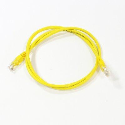 Кабель Patch Cord Telecom NA102-Y-1M UTP кат.5е 1,0м желтый (NA102-Y-1M)Кабели Patch Cord Telecom<br>NA102-Y-1M UTP кат.5е 1,0м желтый<br>