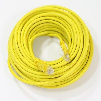 Кабель Patch Cord Telecom NA102-Y-15M UTP кат.5е 15,0м желтый (NA102-Y-15M)Кабели Patch Cord Telecom<br>NA102-Y-15M UTP кат.5е 15,0м желтый<br>