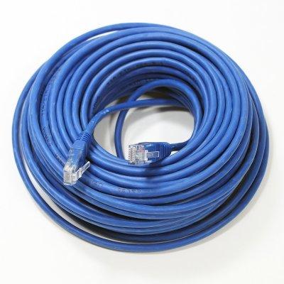 Кабель Patch Cord Telecom NA102-L-20M UTP кат.5е 20,0м синий (NA102-L-20M)Кабели Patch Cord Telecom<br>NA102-L-20M UTP кат.5е 20,0м синий<br>